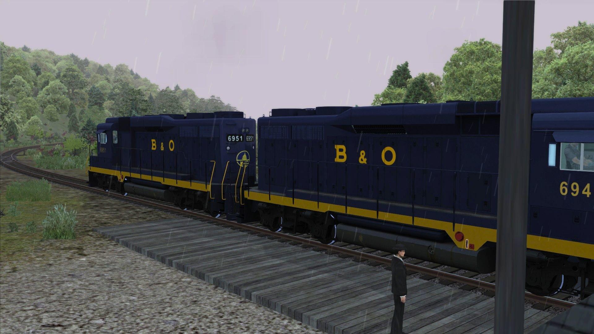 Train Simulator Marketplace: Baltimore and Ohio GP30 Liveries 2017 pc game Img-4