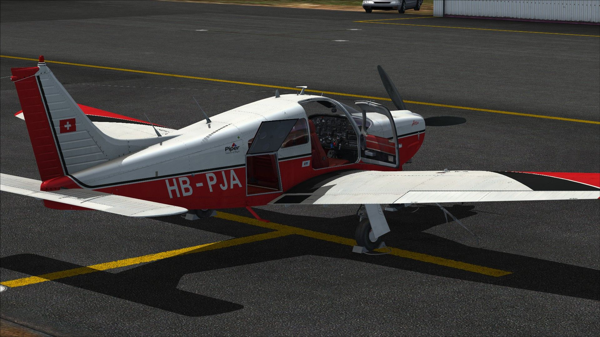 Piper PA-28R Arrow III Add-On | Dovetail Store