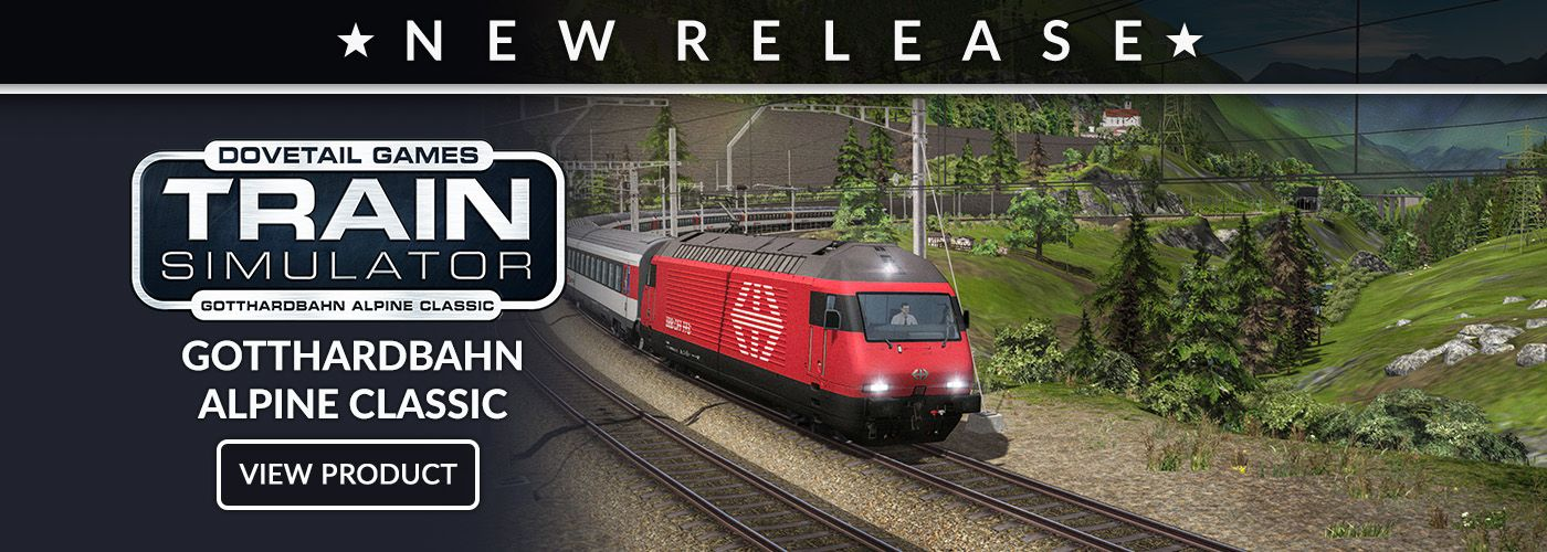 Train Simulator Add-Ons | Dovetail Store
