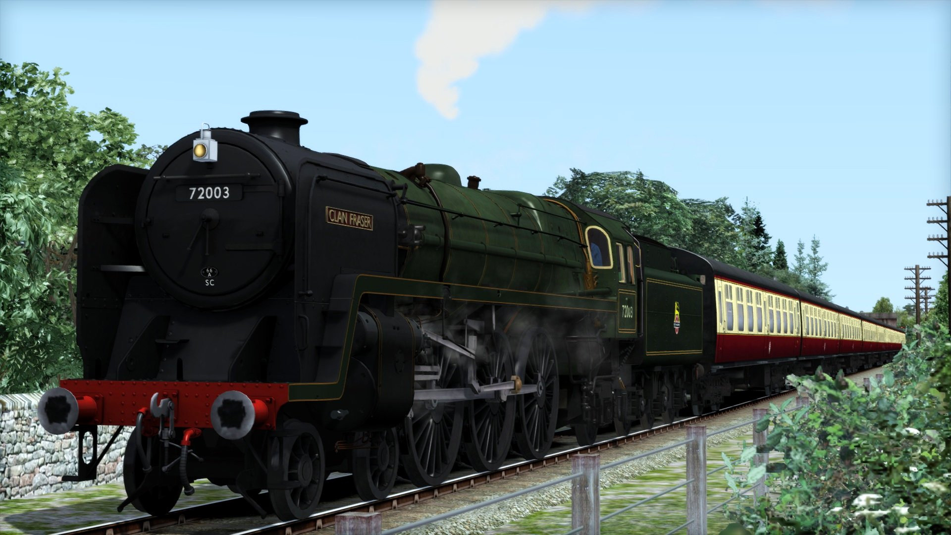 BR Standard Class 6 'Clan Class' Steam Loco Add-On   Dovetail Store