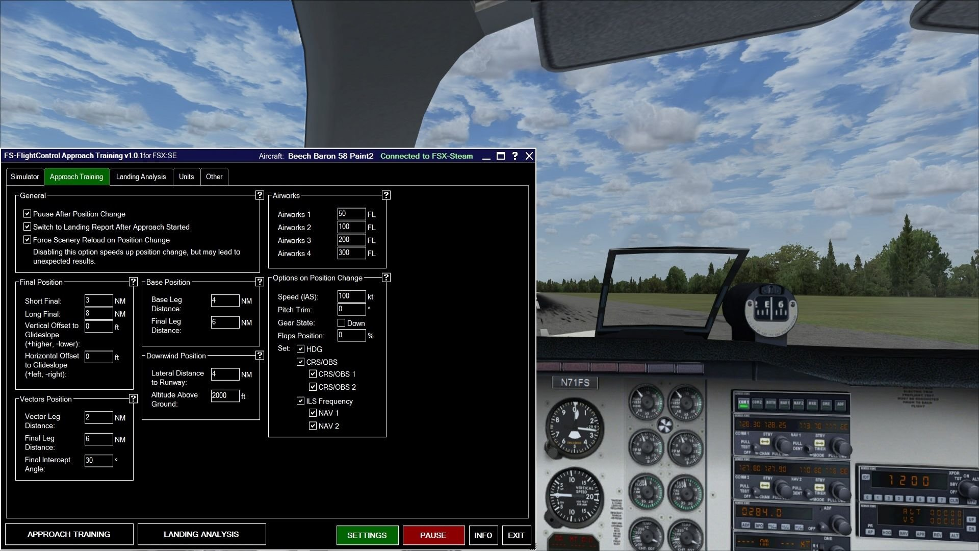 FSX Steam Edition: Approach Training Add-On | Dovetail Store