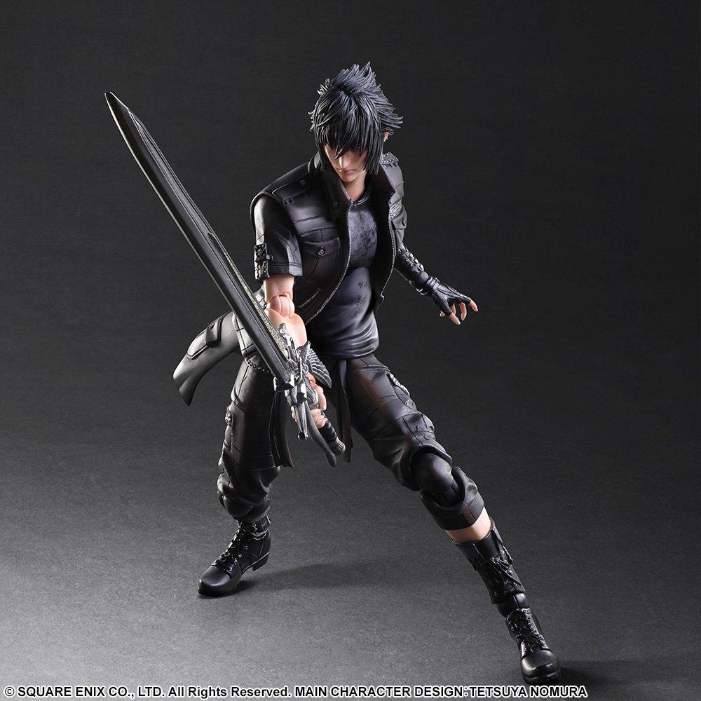 New Square Enix PlayArts FinalFantasy XV Gladiolus Action Figure no box