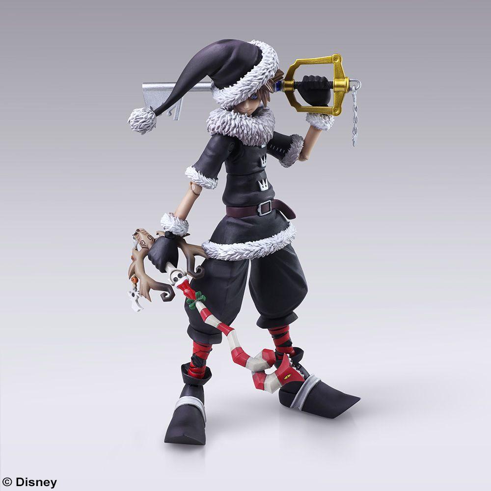 Kingdom Hearts Christmas.Kingdom Hearts Ii Bring Arts Sora Christmas Town Ver