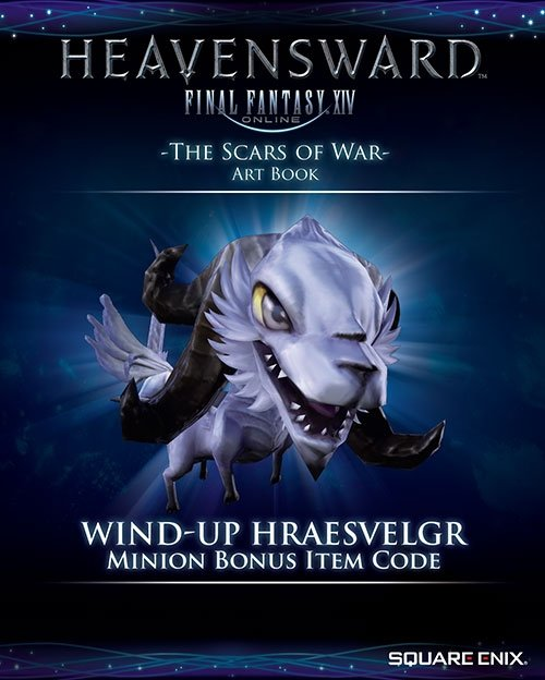 FINAL FANTASY® XIV HEAVENSWARD™ THE ART OF ISHGARD -THE SCARS OF WAR  [ARTBOOK]