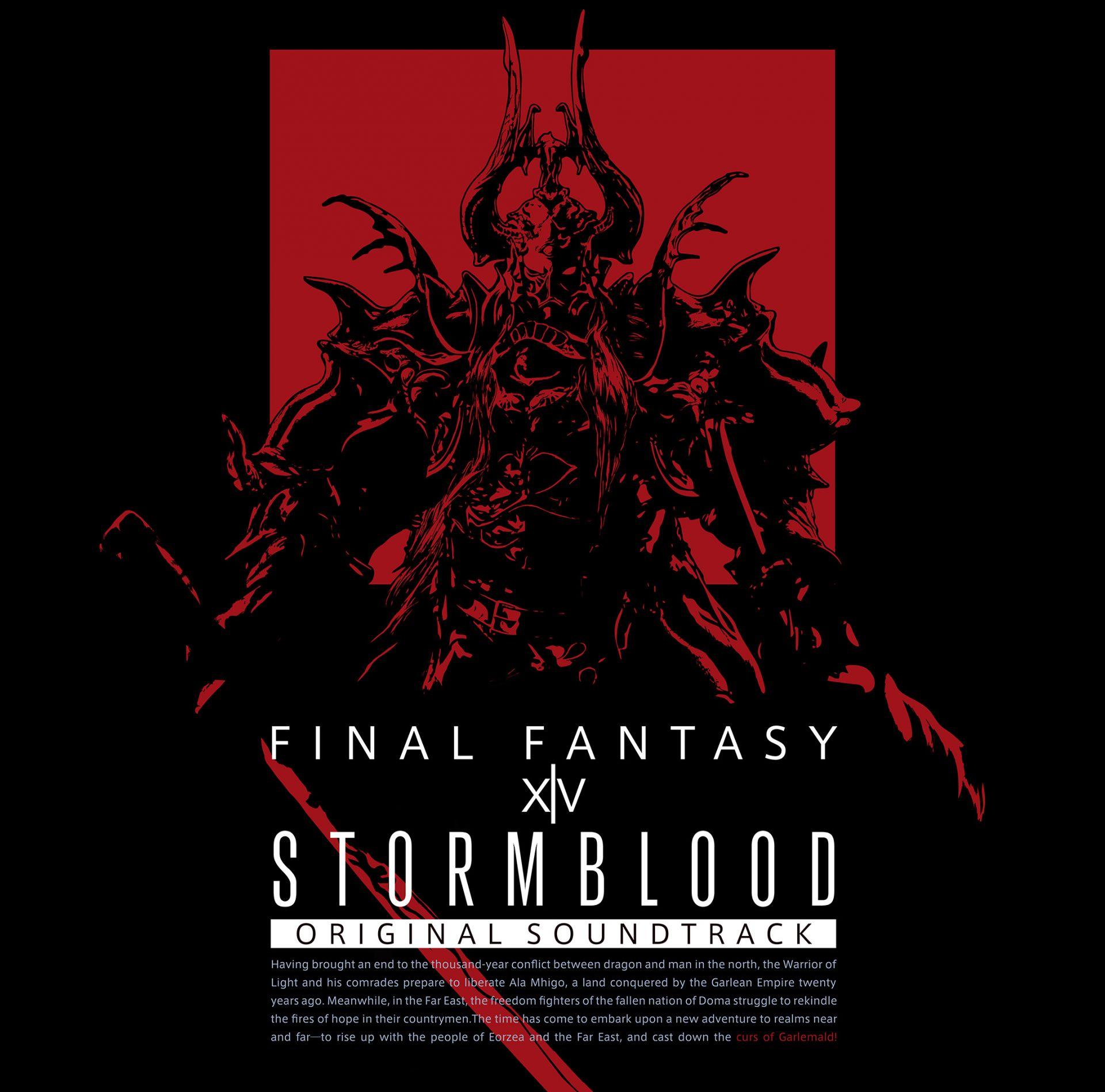 STORMBLOOD: FINAL FANTASY XIV Original Soundtrack [Blu-ray]