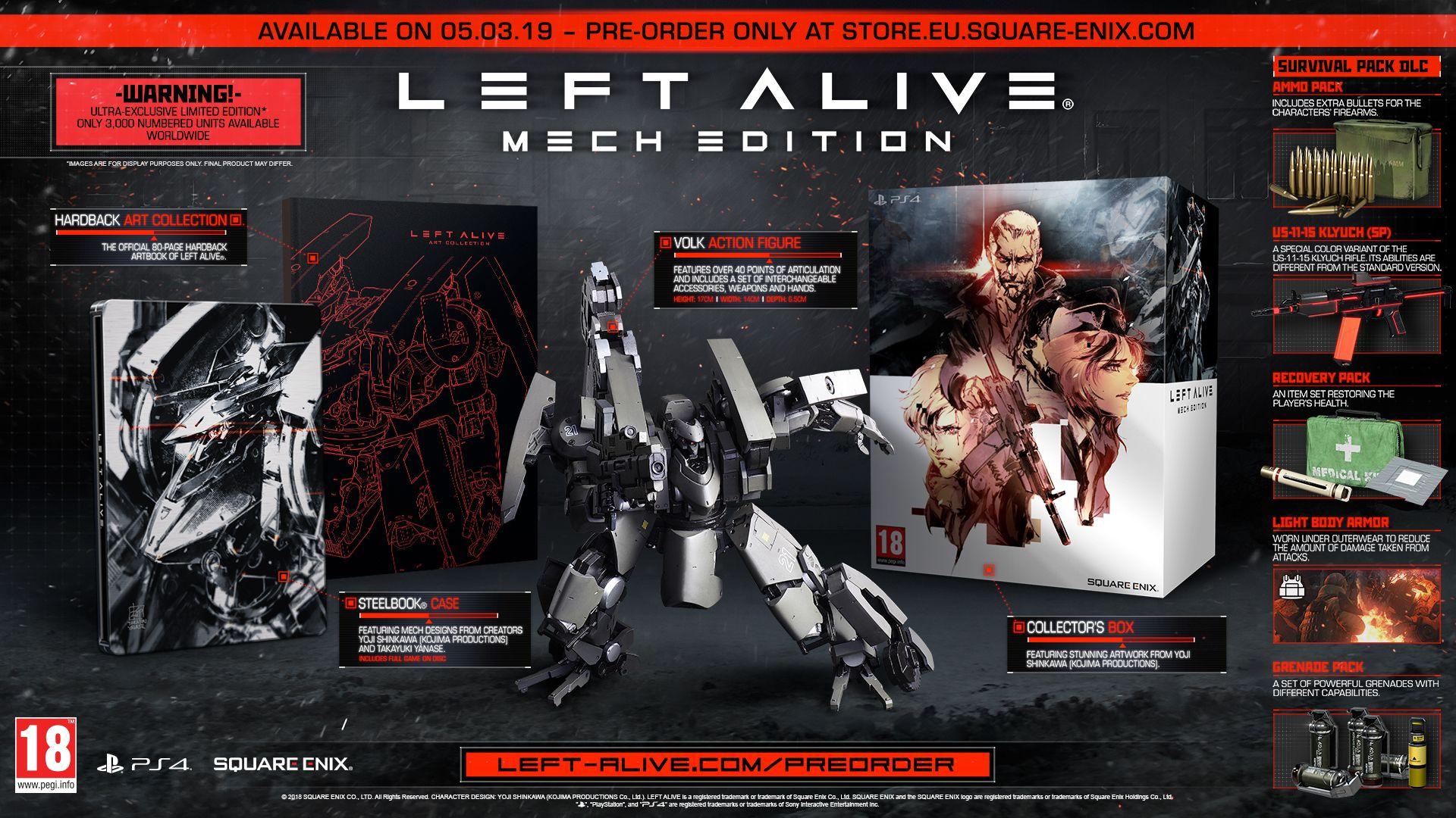 LEFT ALIVE® - MECH EDITION [PS4]   Square Enix Store