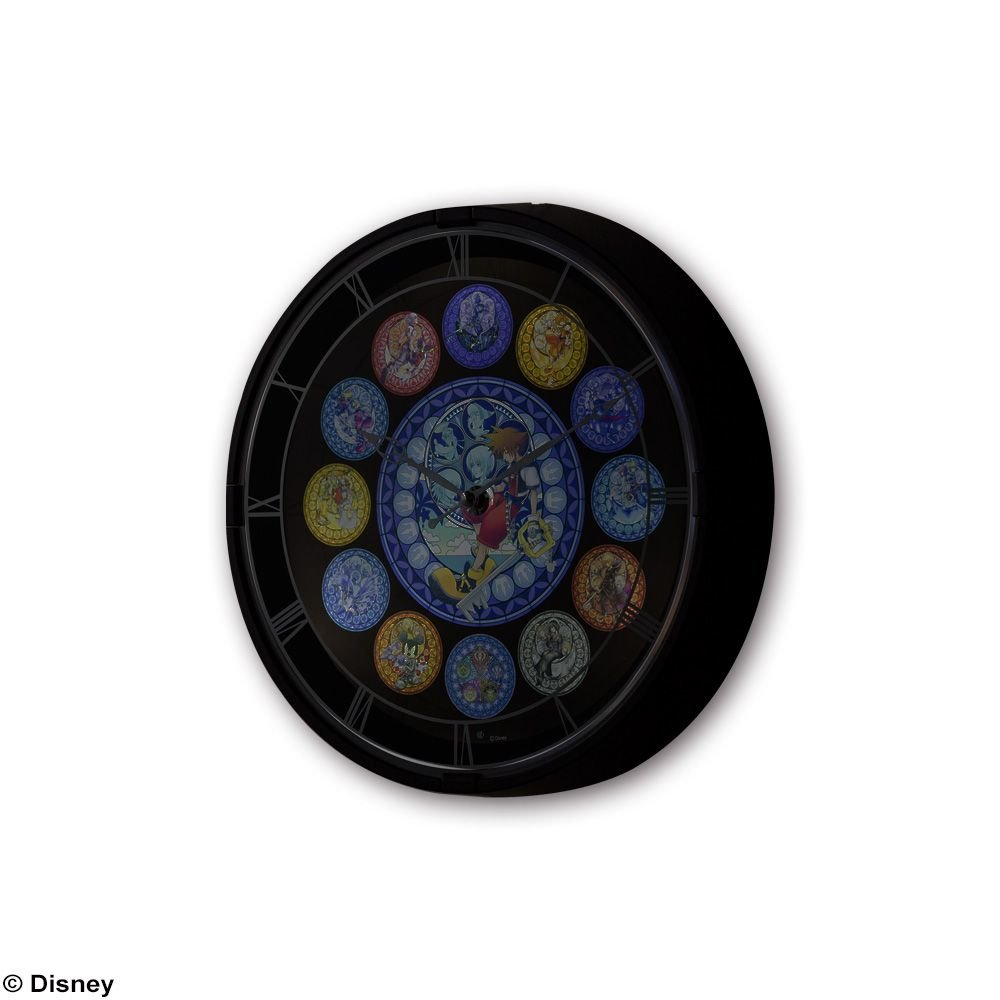 Horloge lumineuse kingdom hearts square enix boutique for Horloge lumineuse