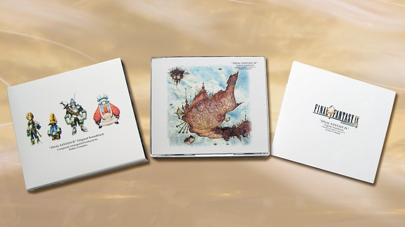 FINAL FANTASY IX Original Soundtrack [4 CD] [Music Disc