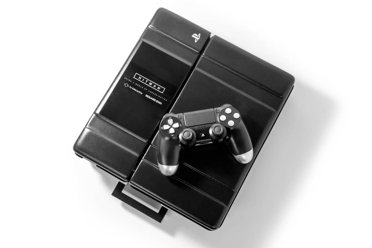 Hitman Playstation 4 Console Agent 47 Briefcase Raffle Ticket Reward Square Enix Store