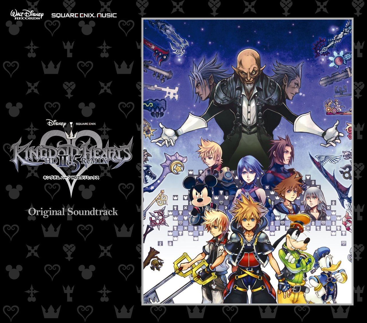 KINGDOM HEARTS HD 2 5 ReMIX Original Soundtrack [CD] | Square Enix Store