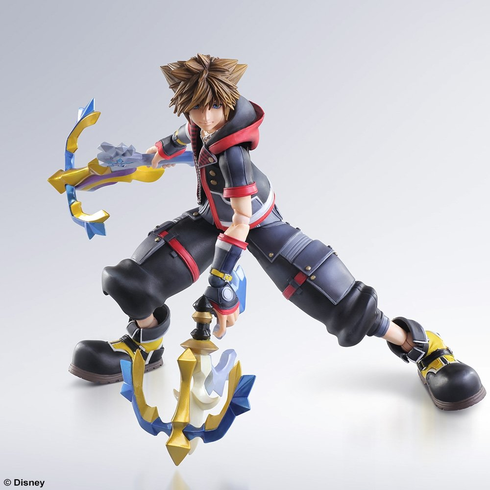 Sora Kingdom Hearts Image 745376: KINGDOM HEARTS III PLAY ARTS -KAI- SORA [ACTION FIGURE