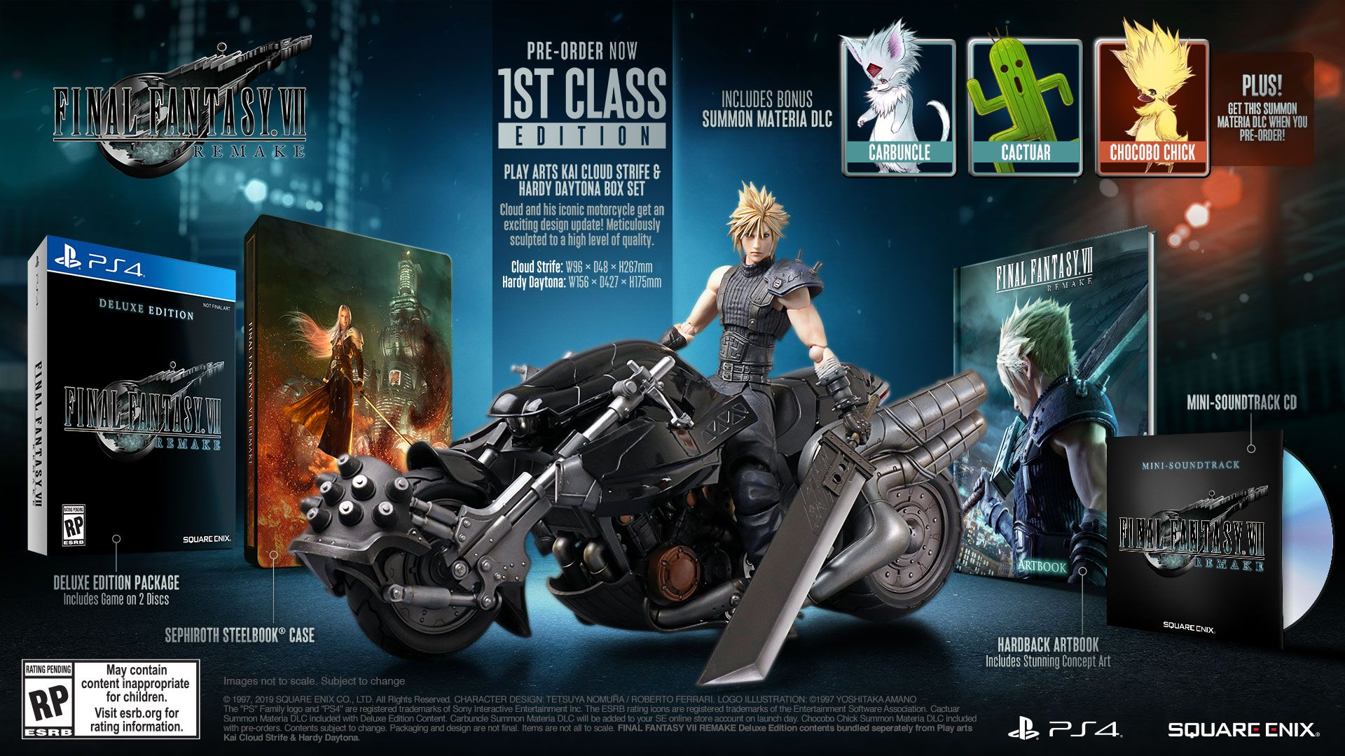 FINAL FANTASY® VII REMAKE - 1ST CLASS EDITION [PS4] | Square Enix Store