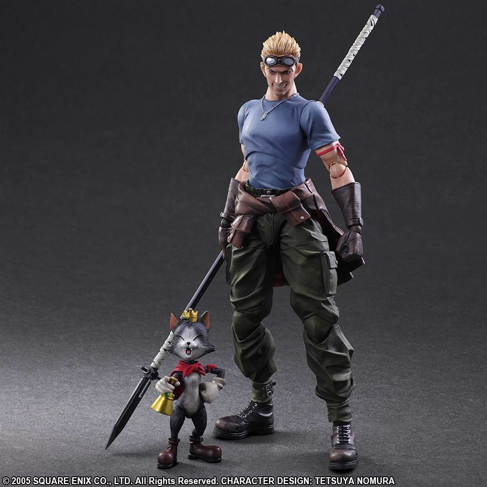 FINAL FANTASY VII ADVENT CHILDREN PLAY ARTS KAI - CID