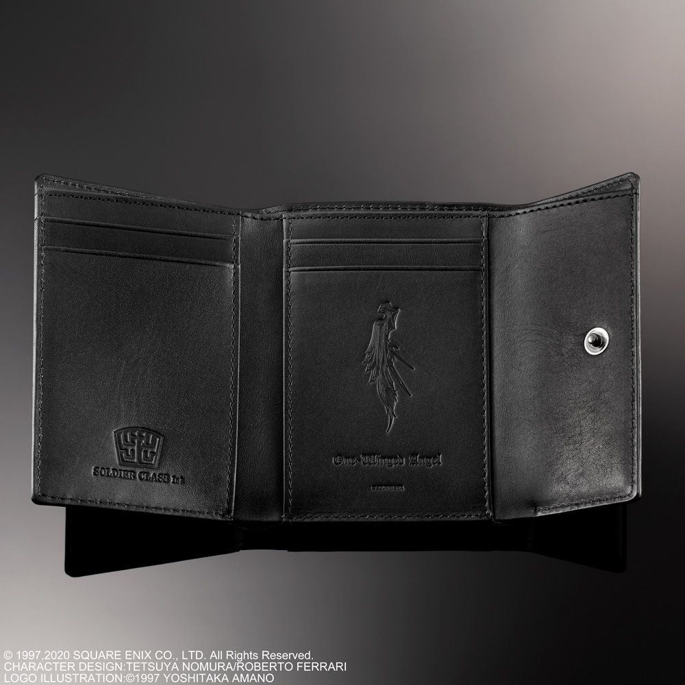 Final Fantasy Vii Remake Tri Fold Wallet Sephiroth