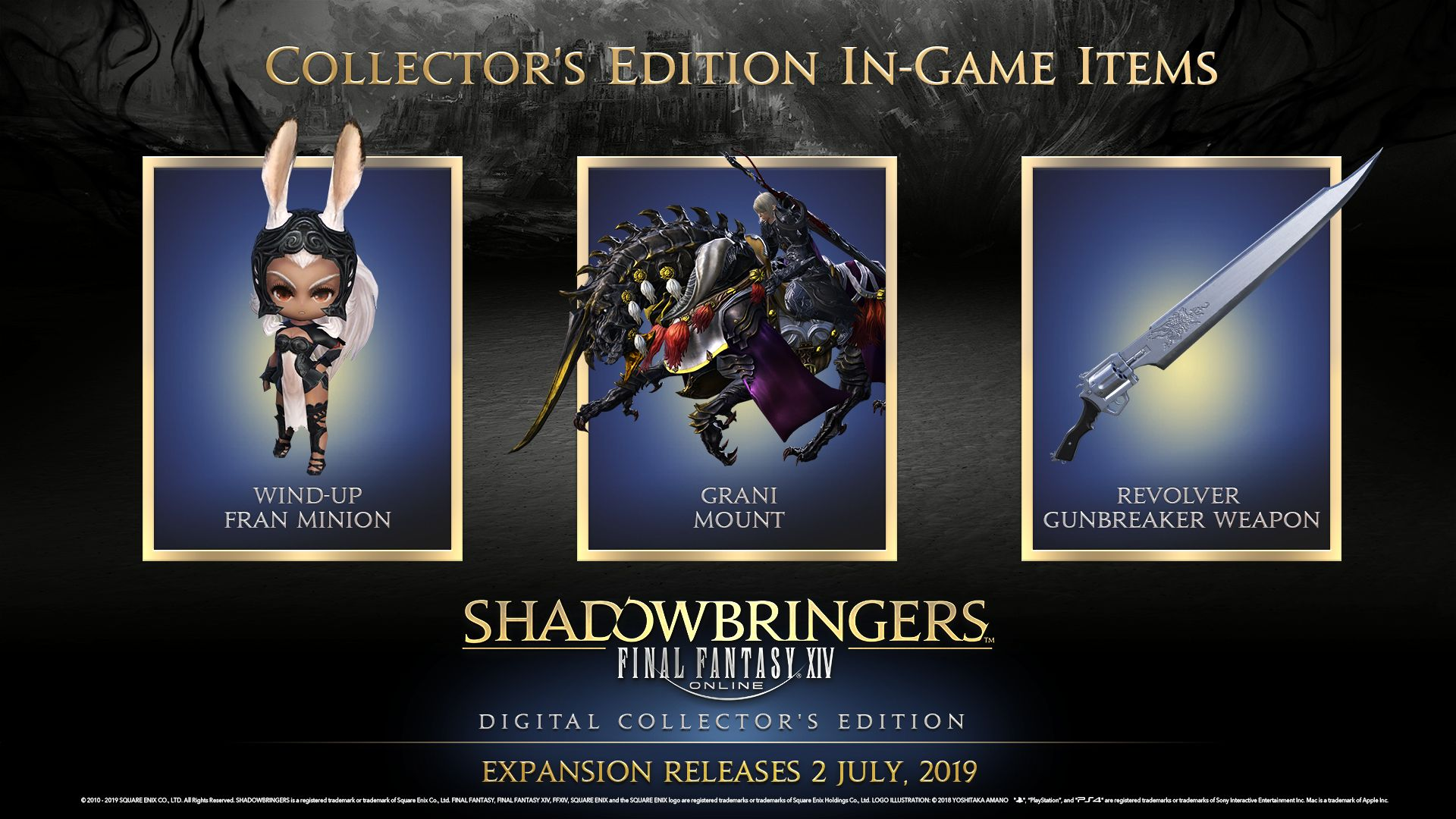 FINAL FANTASY® XIV: Shadowbringers - Collector's Edition (Steam) [PC