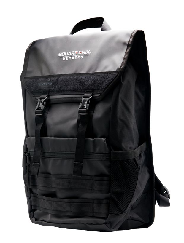 ac28ce0a73ef This new version of our classic Rogue backpack features the brand new Square  Enix Members logo and tons of convenient storage locations including an  area ...