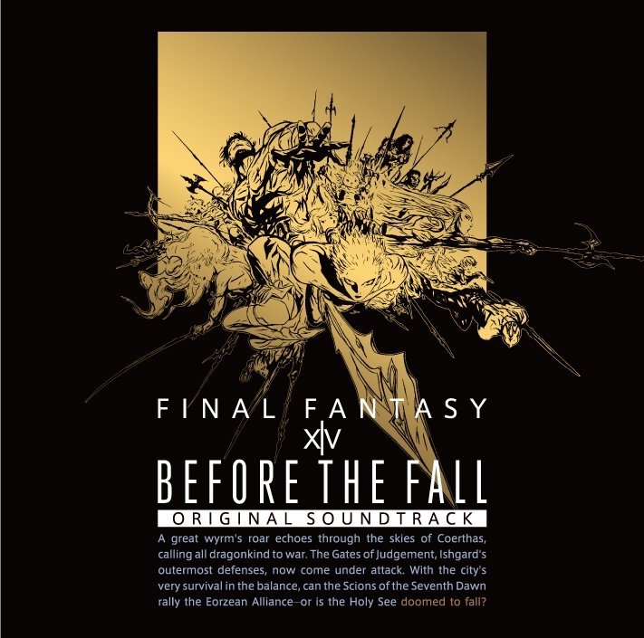 BEFORE THE FALL: FINAL FANTASY XIV Original Soundtrack [Music Disc]