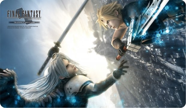 Final Fantasy Trading Card Game Premium Quality Play Mat Final Fantasy Vii Advent Children Cloud Sephiroth
