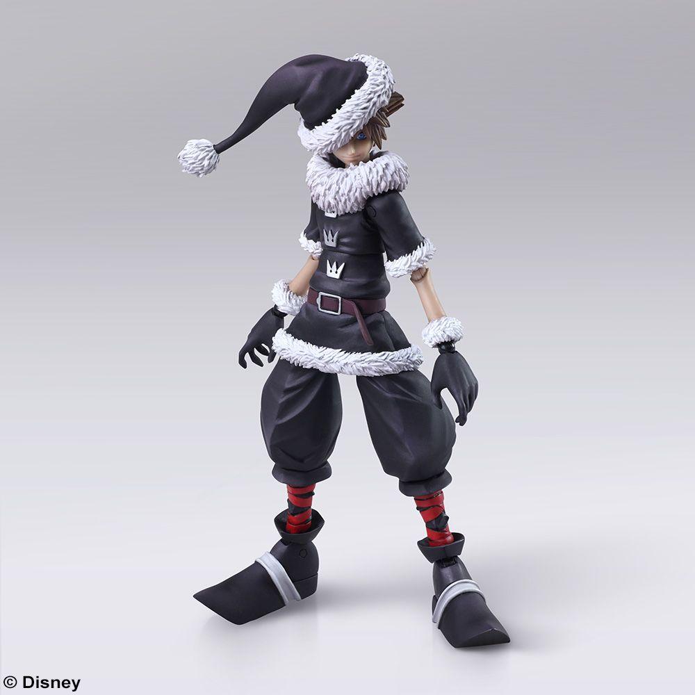 Kingdom Hearts Ii Bring Arts Sora Christmas Town Version Action