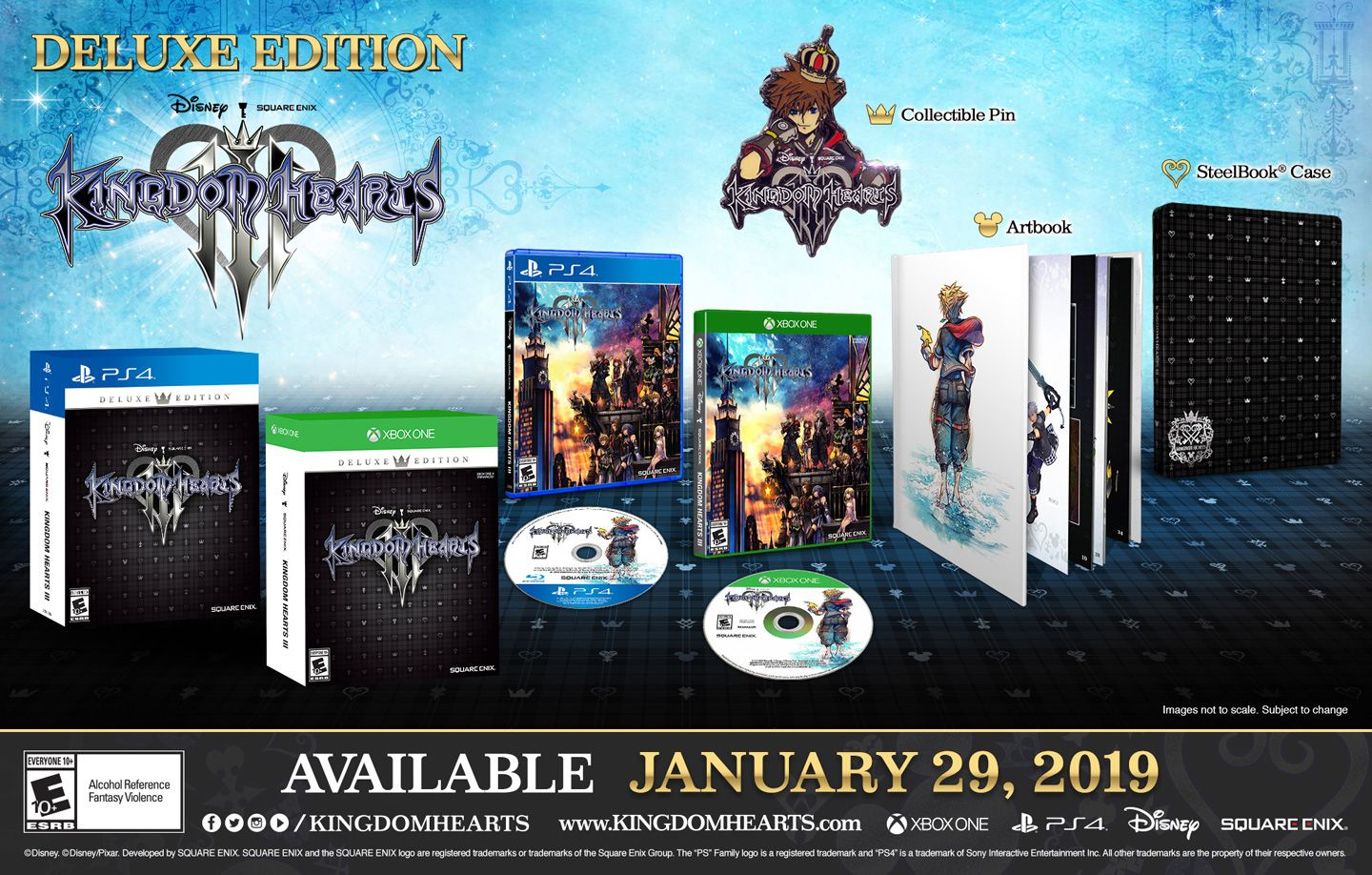 KINGDOM HEARTS III DELUXE EDITION [PS4] | Square Enix Store