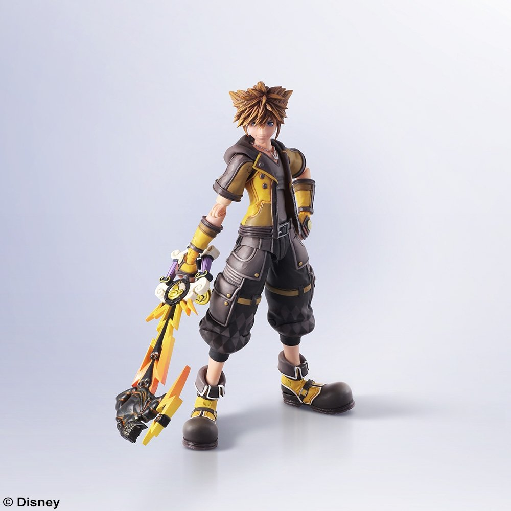 Sora Kingdom Hearts Image 745376: KINGDOM HEARTS III: BRING ARTS- SORA -GUARD FORM VER