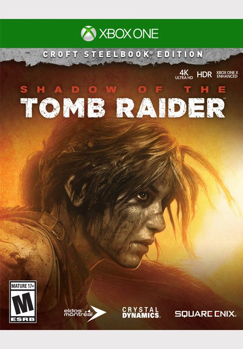 shadow of the tomb raider croft edition ps4 store