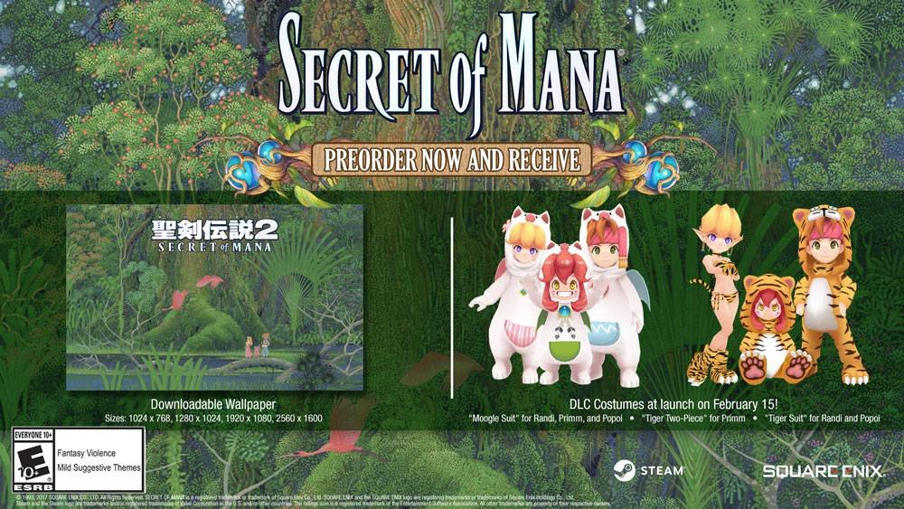 Image result for Secret of Mana