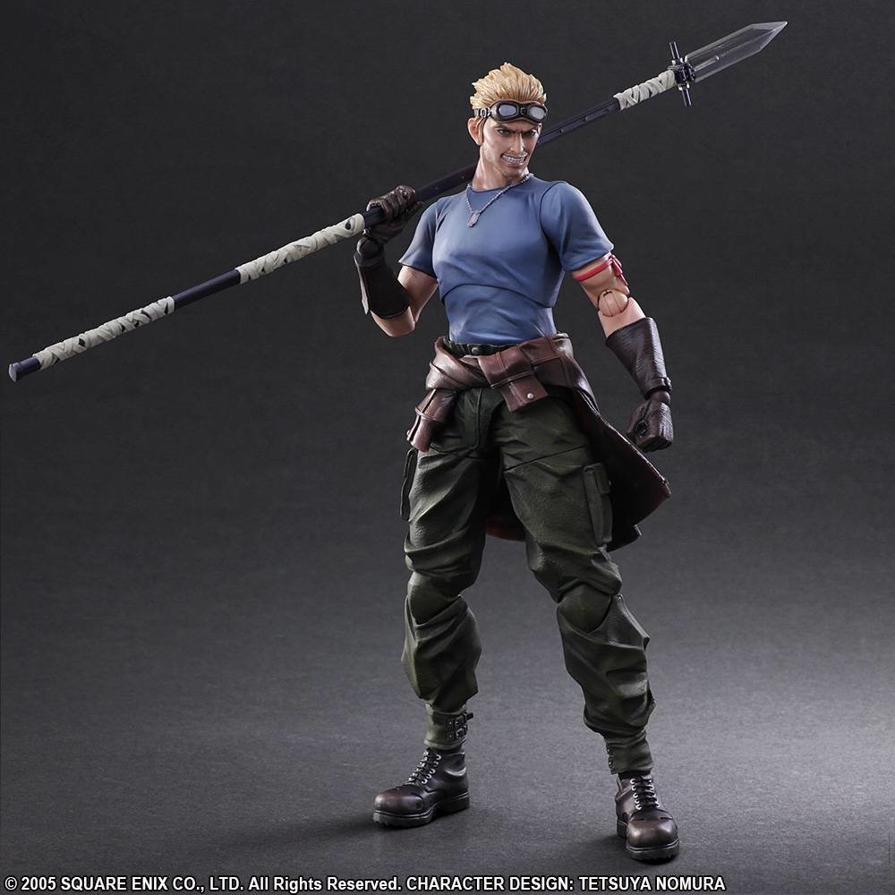 FINAL FANTASY® VII ADVENT CHILDREN PLAY ARTS -KAI- CID