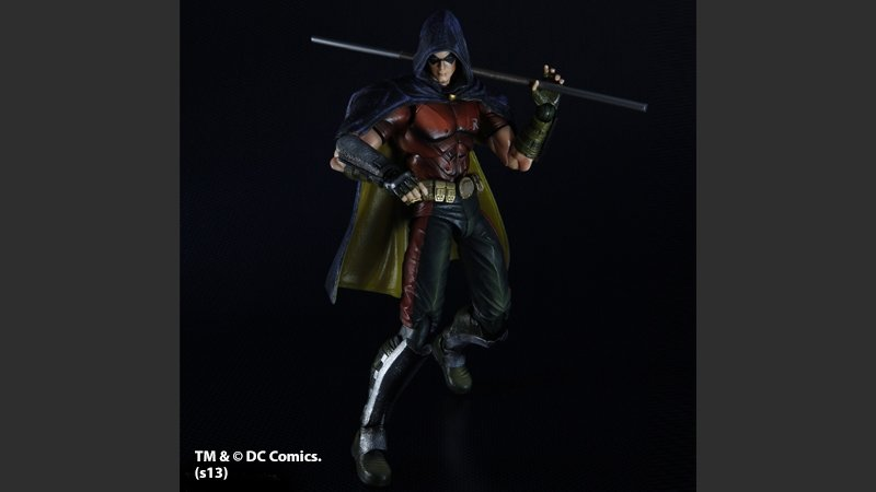Batman Arkham Asylum Robin Play Arts Kai figurine Square Enix