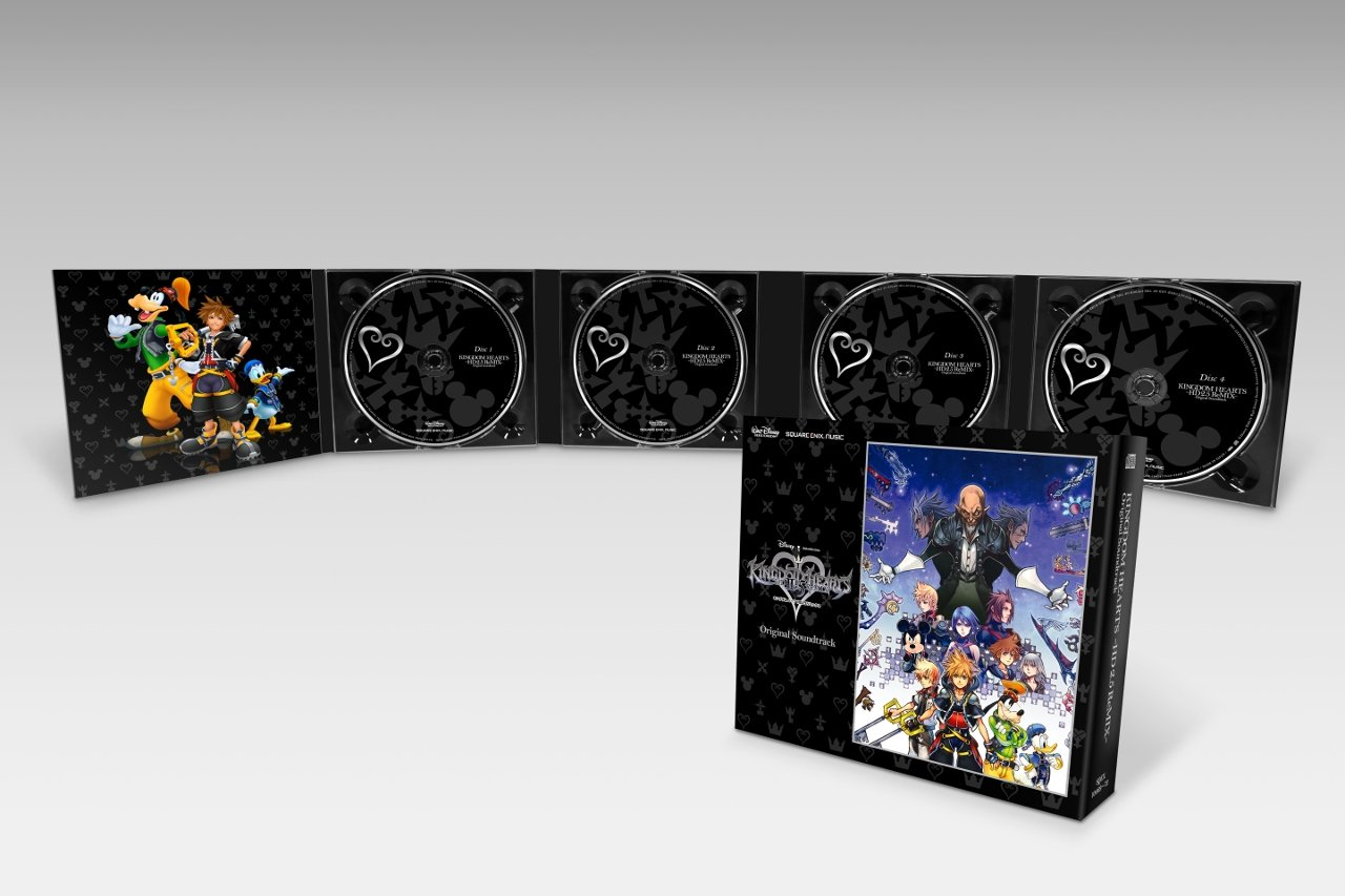KINGDOM HEARTS HD 2 5 ReMIX Original Soundtrack [CD