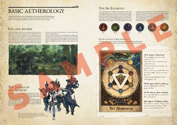 Encyclopaedia Eorzea - The World of FINAL FANTASY XIV