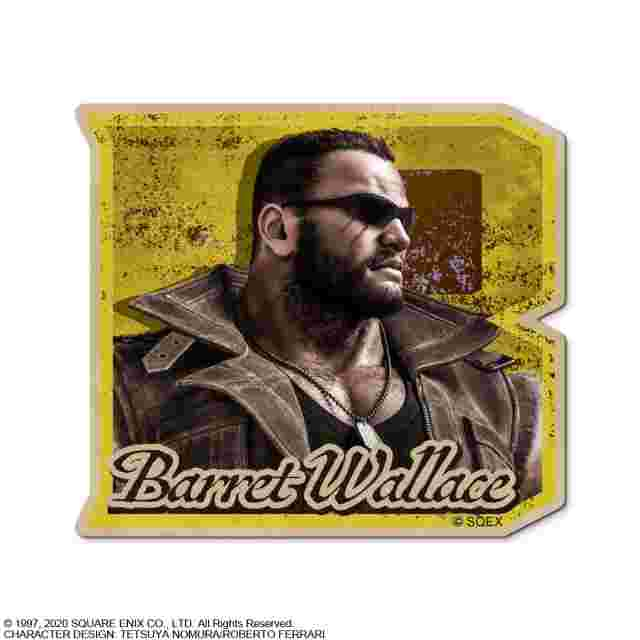 Capture d'écran du jeu FINAL FANTASY VII REMAKE CHARACTER STICKER - BARRET WALLACE