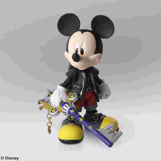 Screenshot for the game KINGDOM HEARTS III BRING ARTS - King Mickey