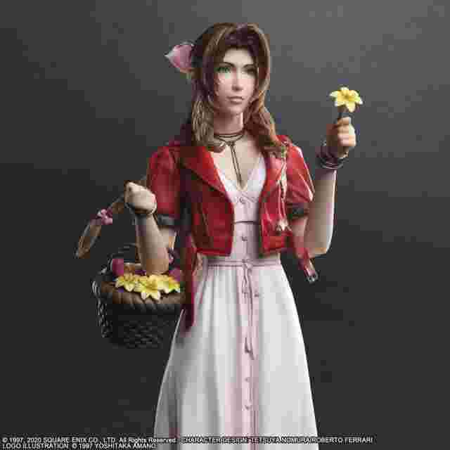 Screenshot for the game FINAL FANTASY VII REMAKE PLAY ARTS KAI ACTION FIGURE - AERITH GAINSBOROUGH