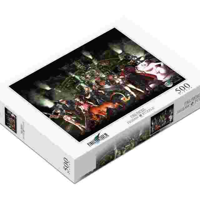 cattura di schermo del gioco FINAL FANTASY JIGSAW PUZZLE - FINAL FANTASY VII 500 PIECE