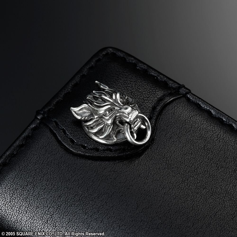 Final Fantasy Vii Advent Children Leather Key Case Wallet Cloudy