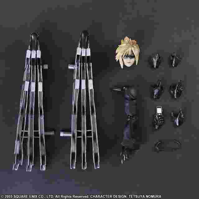 Screenshot for the game FINAL FANTASY VII ADVENT CHILDREN PLAY ARTS -KAI- Cloud Strife & Fenrir