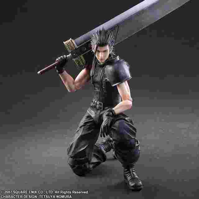 Screenshot for the game CRISIS CORE FINAL FANTASY VII PLAY ARTS KAI [ZACK]