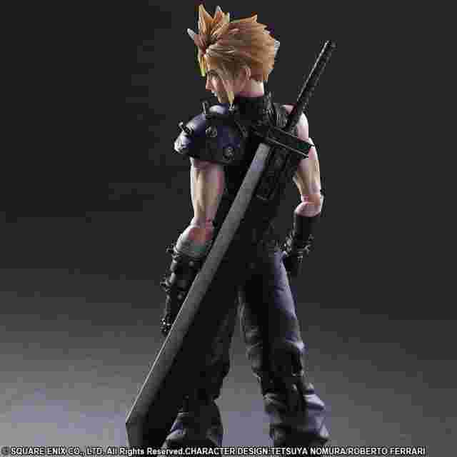 Screenshot for the game FINAL FANTASY VII REMAKE PLAY ARTS KAI [No.1 CLOUD STRIFE]