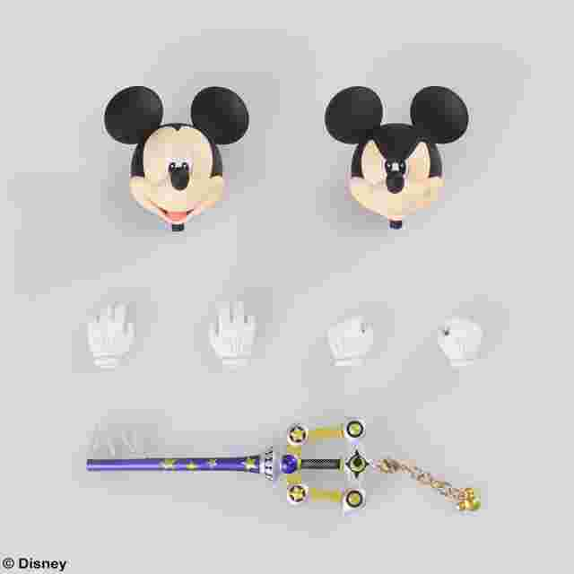 Captura de pantalla del juego KINGDOM HEARTS III BRING ARTS - REY MICKEY