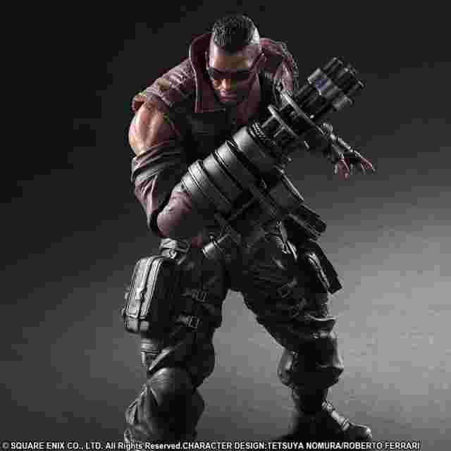 Screenshot for the game FINAL FANTASY® VII REMAKE PLAY ARTS -KAI- BARRET WALLACE [ACTION FIGURE]