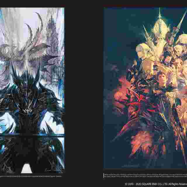 Screenshot for the game FFXIV: Heavensward | The Art of Ishgard -Stone and Steel