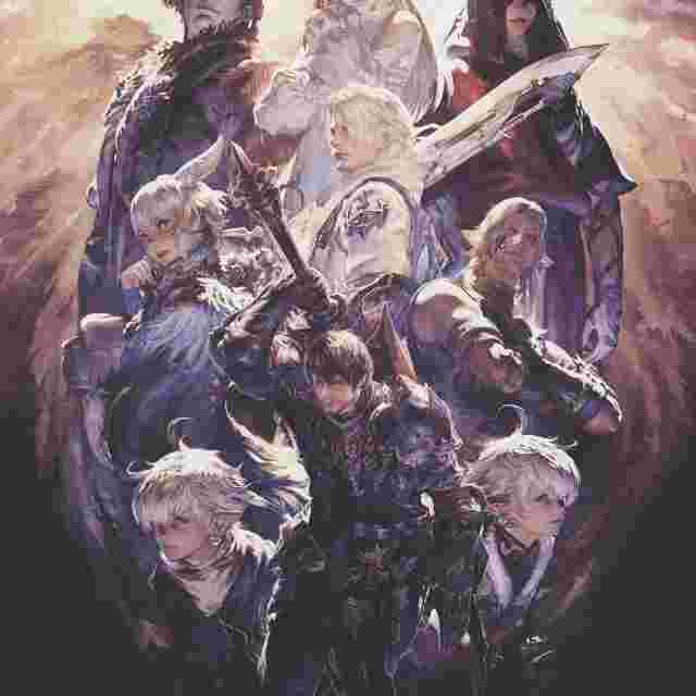 Screenshot des Spiels Final Fantasy XIV Poster Collection