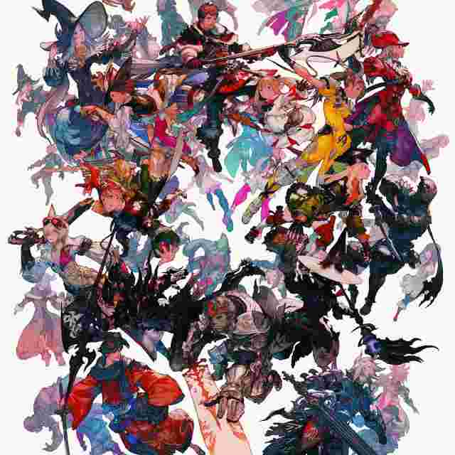Screenshot for the game Final Fantasy XIV Poster Collection [POSTER BOOK]