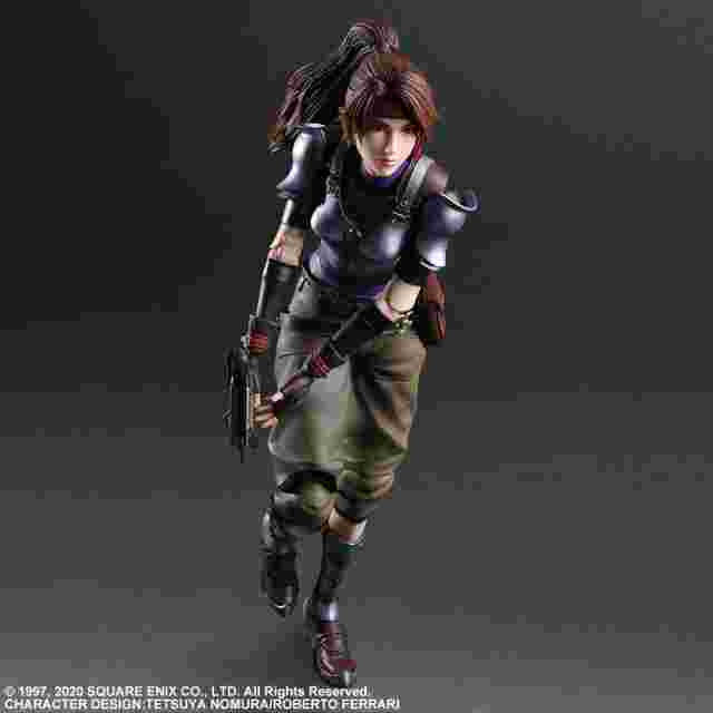 Screenshot for the game FINAL FANTASY® VII REMAKE PLAY ARTS KAI™ Action Figure -JESSIE, CLOUD & MOTORCYCLE SET [ACTION FIGURE]
