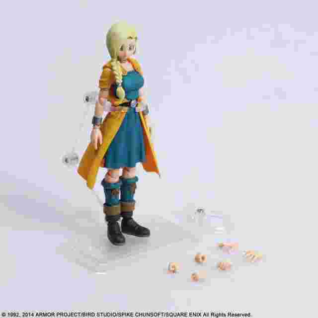 Captura de pantalla del juego DRAGON QUEST V HAND OF THE HEAVENLY BRIDE BRING ARTS - BIANCA