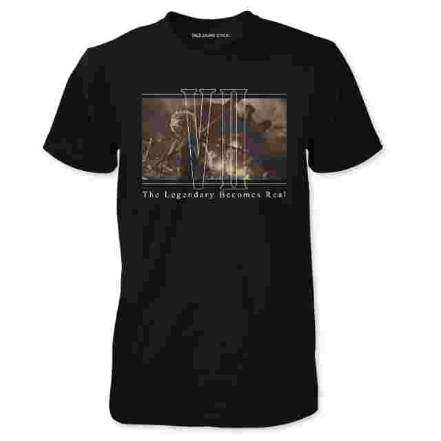 Screenshot for the game FINAL FANTASY® VII REMAKE T-shirt The Legend Becomes Real: S [Apparel]