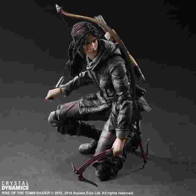 cattura di schermo del gioco Figurine Rise of the Tomb Raider PLAY ARTS KAI [Lara Croft]