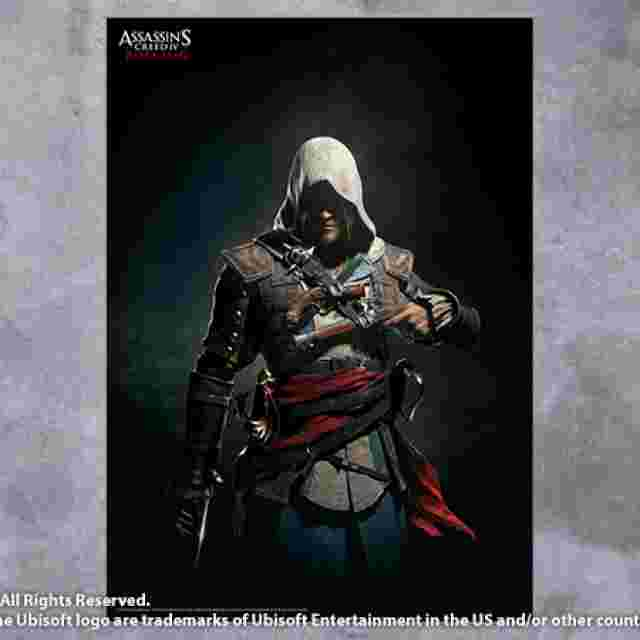Screenshot for the game WALLSCROLL POSTER ASSASSIN'S CREED IV BLACK FLAG - VOL 2