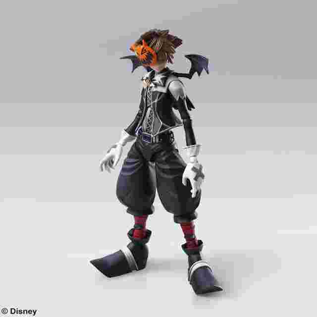 Screenshot for the game KINGDOM HEARTS II BRING ARTS SORA HALLOWEEN TOWN VERSION [ACTION FIGURE]